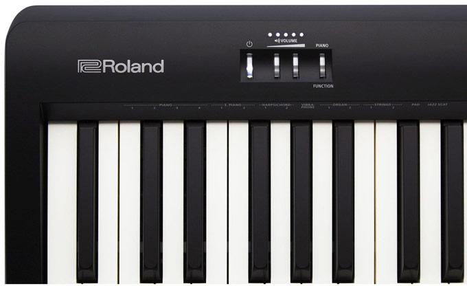 Roland FP-10 panel